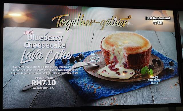Dominoes Blueberry Cheesecake Lava Cake Menu Price