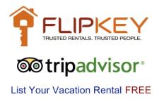List your vacation rental condo or home for free on FlipKey & TripAdvisor