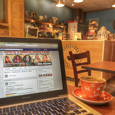 Working in Coffee Shops Around the World, Beachbody Coach Travel, Digital Nomad Office Space, Become a Beachbody Coach
