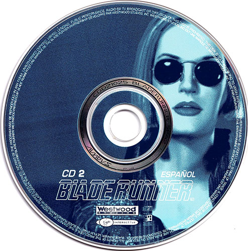 Blade Runner PC CD 2