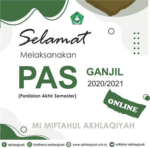 MI Miftahul Akhlaqiyah Melaksanakan PAS Online dengan G-Suite Education