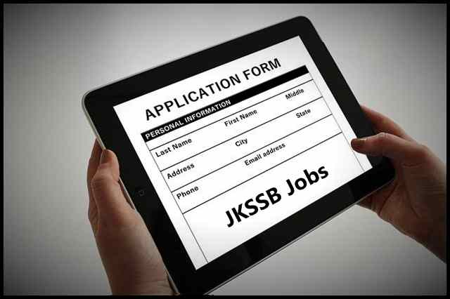 JKSSB Fresh Recruitment  2021, Apply Online for 462 Posts @ssbjk.org.in