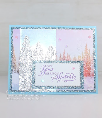 evergreenforest 3D embossing folder