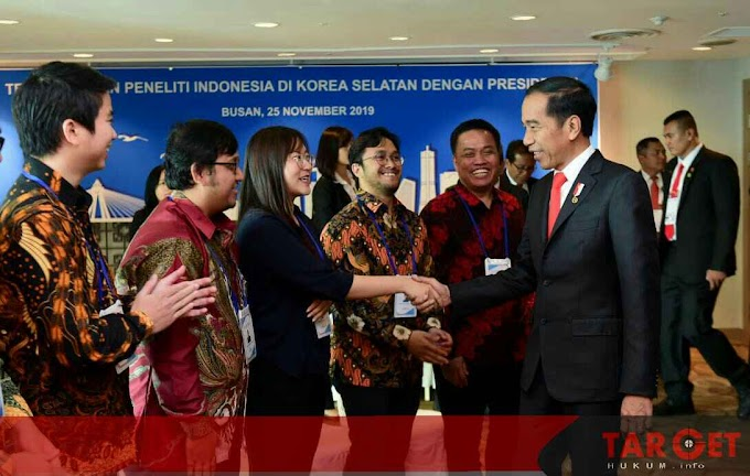 Pesan Presiden Jokowi Kepada Peneliti Muda Indonesia di Korea Selatan : Bangun Tanah Air