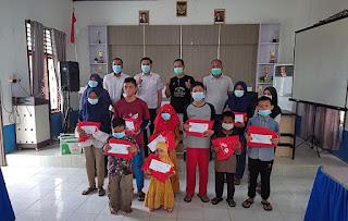 100 Anak Yatim di Tanjung Jabung Timur Terima Bingkisan dan Santunan SKK Migas - PetroChina