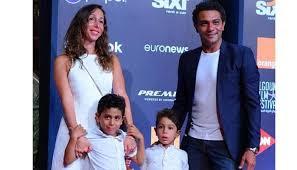 السيرة الذاتية للفنان آسر ياسين/صور آسر ياسين وزوجته واولاده