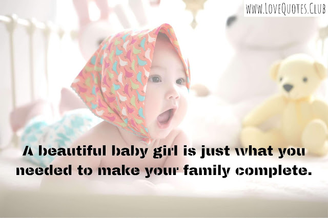 love quotes for my baby girl