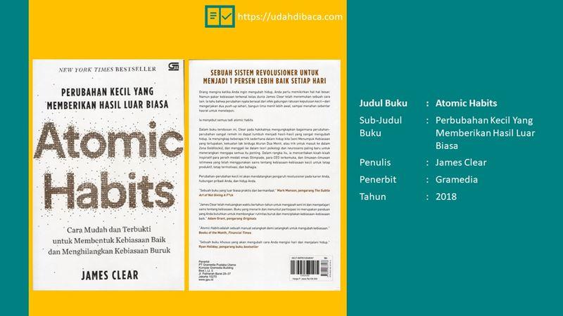 Review Buku Atomic Habits Udahdibaca Com