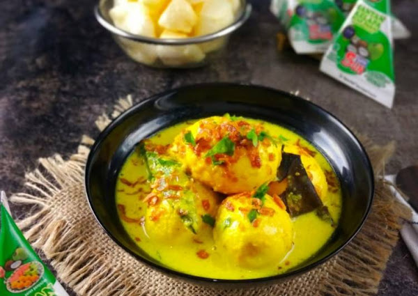 Opor telur by santan kara
