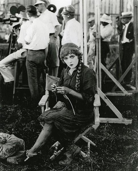 Películas de los años 20 detrás de las cámaras