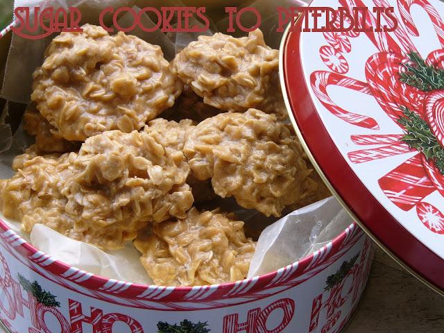 No Bake Biscoff Cookies