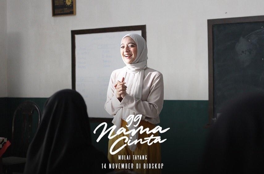 Film 99 Nama Cinta Suguhkan Kisah Romantis Bernuansa Religi