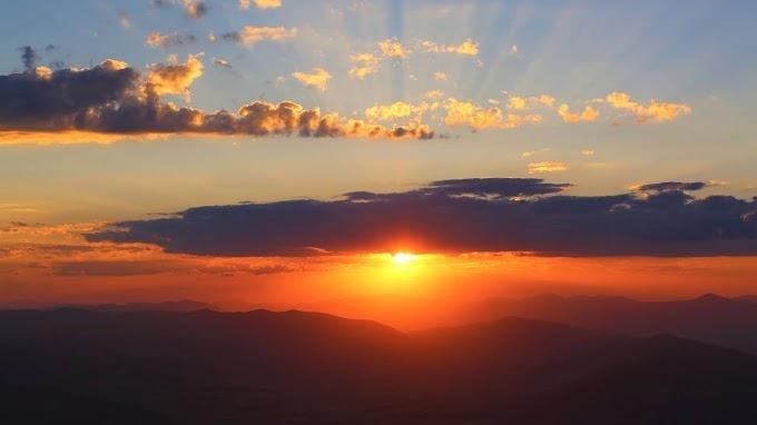 Lindo Pôr do Sol para Contemplar