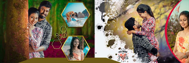 Creative Photo Album PSD Templates