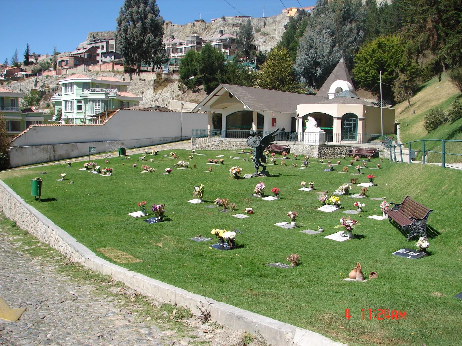 Venta inmobiliaria terrenos en el cementerio de la paz for Cementerio jardin