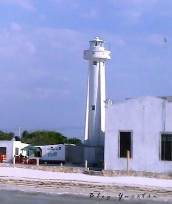 Faro Telchac Puerto Yucatan Mexico