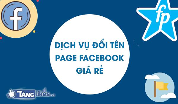 dich vu doi ten fanpage facebook