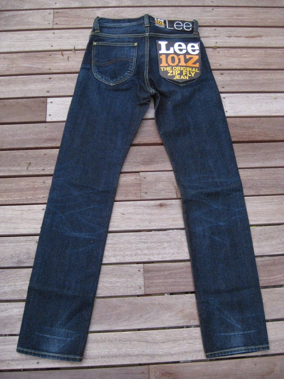 3a5371fd Up for sale are some 101Z style straight leg selvage/selvedge denim Lee  brand jeans (Style # L95049GB). The Z's stands for the zip fly that these  jeans have ...
