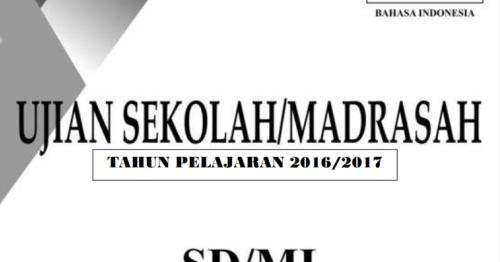 Soal Un Sd Matematika 2016 Newhairstylesformen2014 Com