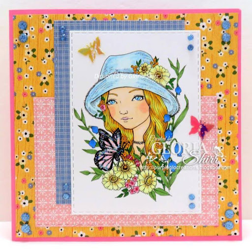 Featured Card at Word Art Wednesday Challenge Blog