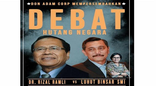 Debat Rizal Ramli dan Luhut Panjaitan