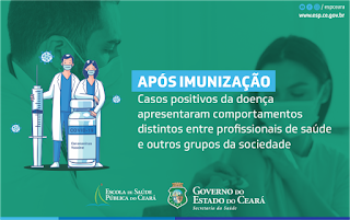 Vacinação evita segunda onda de Covid-19 em profissionais de saúde no Ceará, aponta estudo