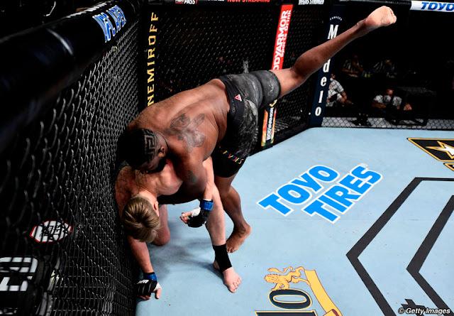 Curtis Blades Drops Alexander Volkov UFC On ESPN 11