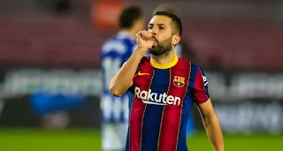 'It's our fault. We screwed up': Jordi Alba reacts to Cadiz draw