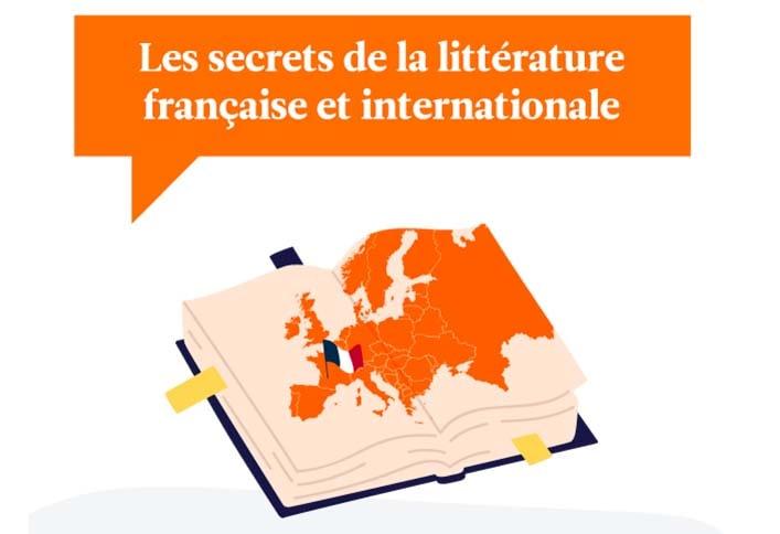Les secrets de la littérature française et internationale