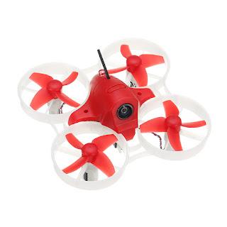 Drone Eachine M80 New Sisa Stok 3 Battery Acro Angle Mode Motor 8520 Turtle Mikro FPV Drone