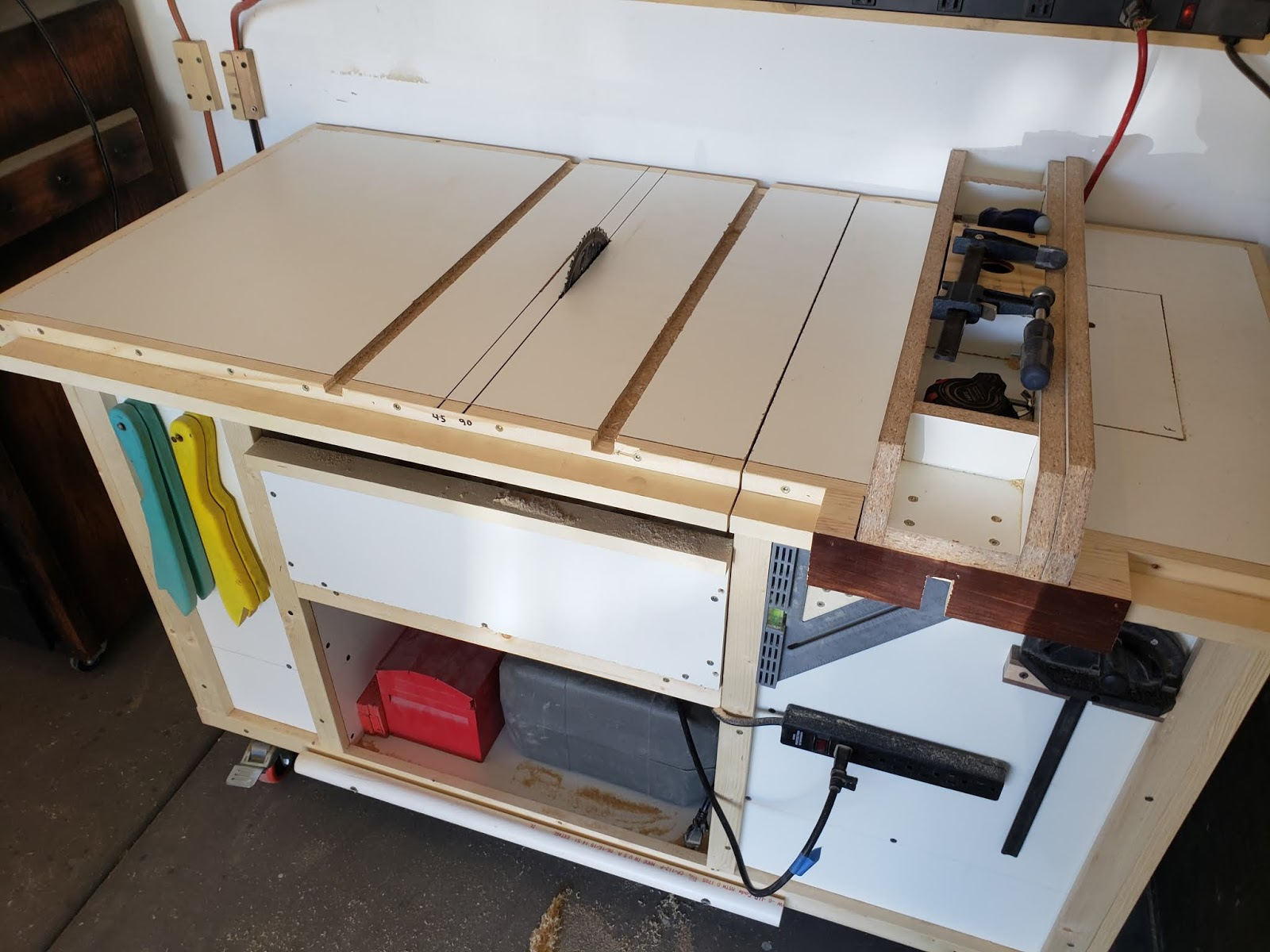 Timbos Creations Drill Press And Sanding Carts Is Preferable To A Hand When