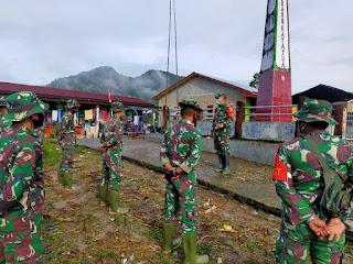Dandim 0210/TU Tinjau Pelaksanaan TMMD ke-109 di Tarabintang