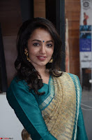 Tejaswi Madivada looks super cute in Saree at V care fund raising event COLORS ~  Exclusive 031.JPG