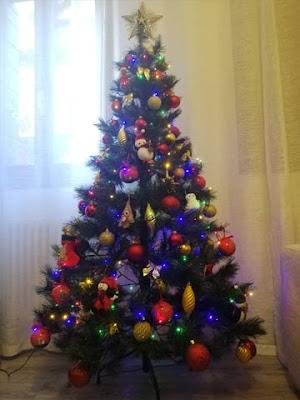 Il mio attuale albero di Natale