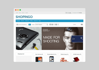 Shopingo Blogger Template Free Download |