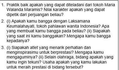 Soal Bahasa Indonesia Tentang Srikandi Indonesia Kelas 10-11-12 SMA-SMK