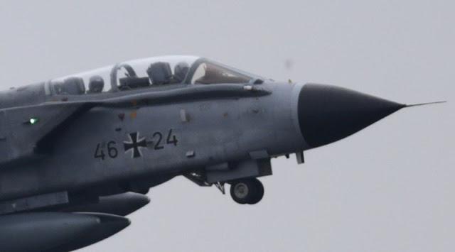Jet Tempur Rusia Bayangi Misi Jet Tornado Jerman di Suriah