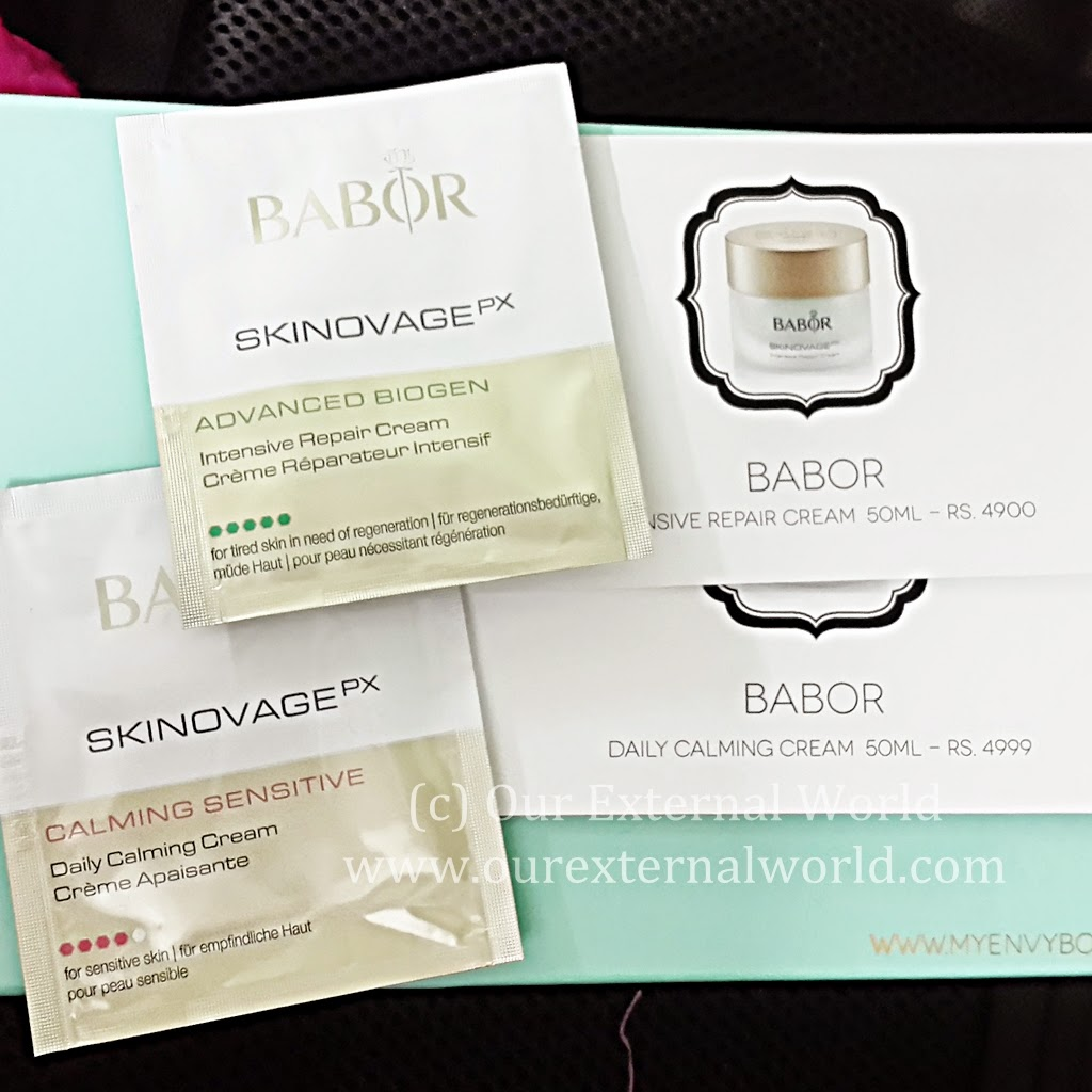 Unboxing: My Envy Box March 2015 Review, babor
