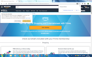 halaman utama amazon prime