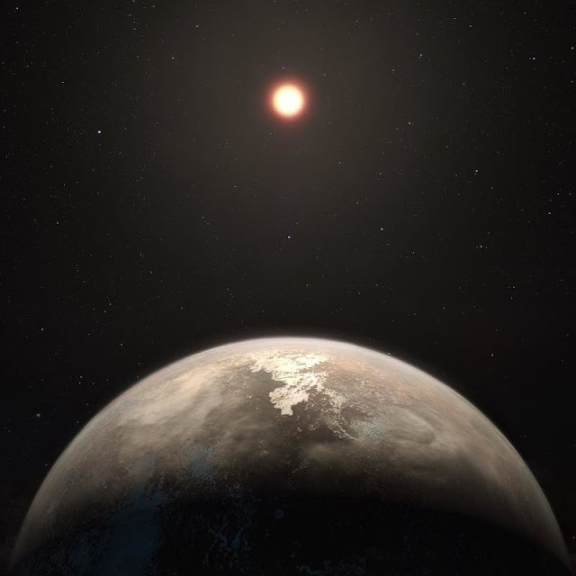 Rocky planet neighbour looks familiar, but is not Earth's twin
