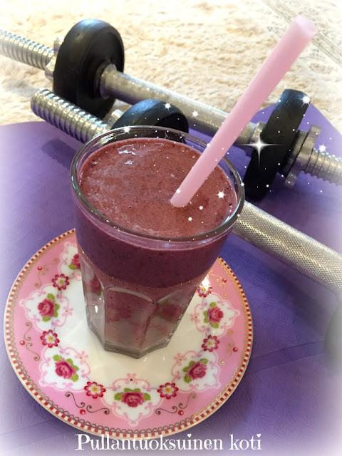 #smoothie #terveyspirtelö #proteiinipirtelö #aamainen #treeni #hyväolo #hyvinvointi #superfood #fittness
