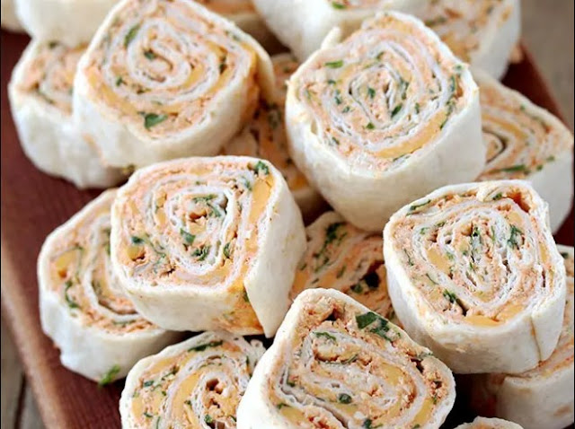 Taco Tortilla Roll Ups #appetizers #lunch