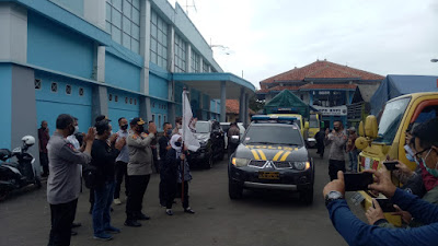 KPU Cianjur Distribusikan Logistik Pilkada Pada Delapan Kecamatan.