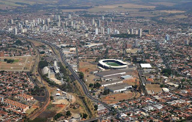 Araraquara vista aérea