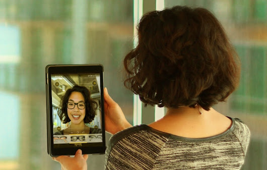 Technology: Mirror Lets You Try on Virtual Eyeglasses - Tech Zone