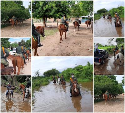 hoyennoticia.com, Carabineros vigilan zona rural del norte de Valledupar