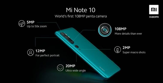 Xiaomi's Mi Note 10 to launch in India early next year