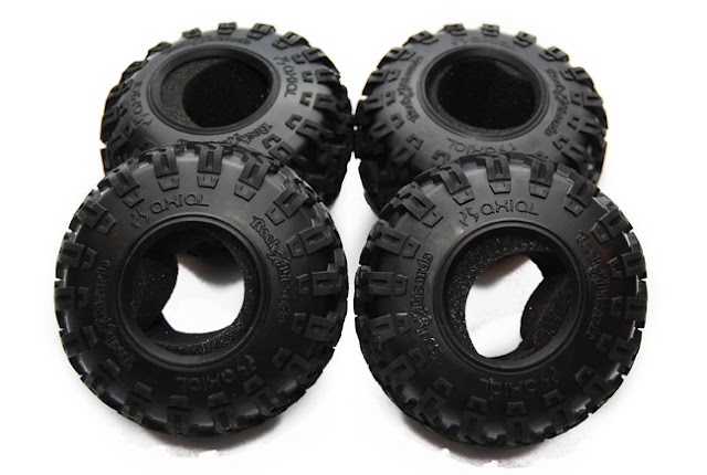 Axial AX10 Scorpion tires