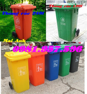 Thùng rác công nghiệp, thùng rác y tế, thùng rác công cộng