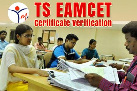 ts eamcet certificate verification dates
